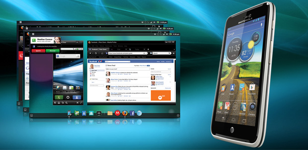 Motorola ATRIX HD sin WebTop