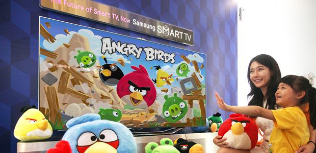 Angry Birds llega a Samsung Smart TV
