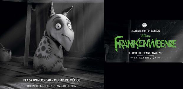 El Arte de Frankenweenie en México