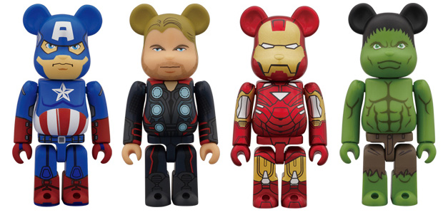 Bearbricks-Avengers-Assemble