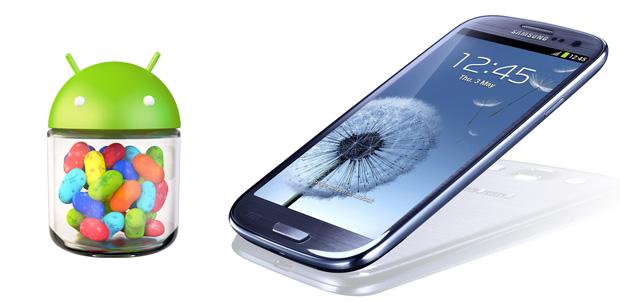 Galaxy S III muy pronto con Jelly Bean