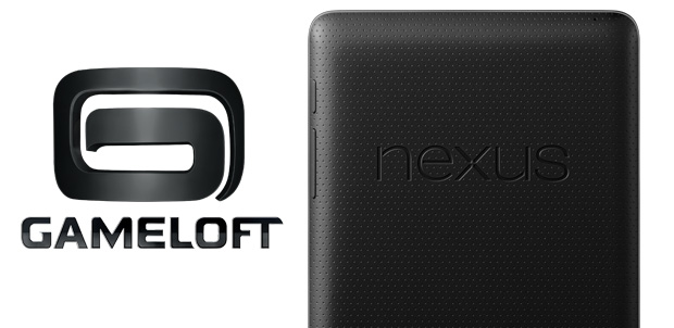 Gameloft dentro de Google Nexus 7