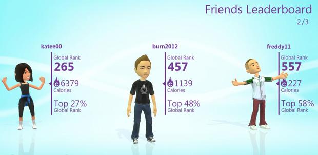 Títulos compatibles con Kinect PlayFit
