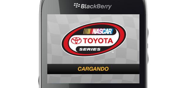 La NASCAR México en BlackBerry