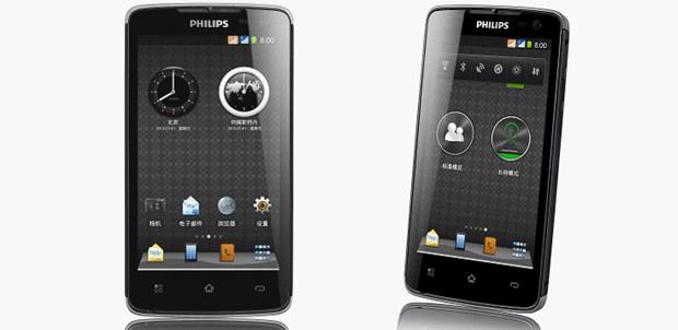 Philips W732 con batería de 2400 mAh
