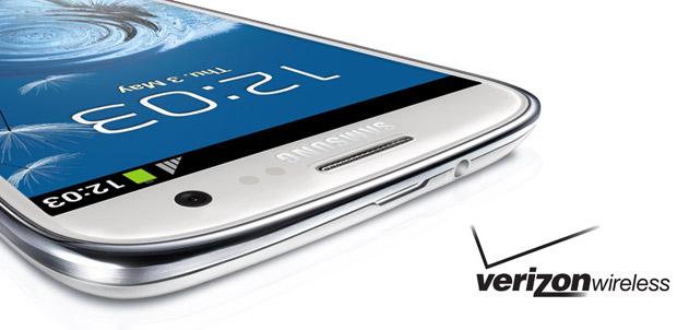 Galaxy S III disponible en Verizon