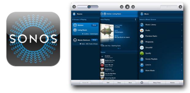 Sonos Controller actualiza para iPad