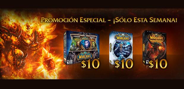 World of Warcraft con gran descuento