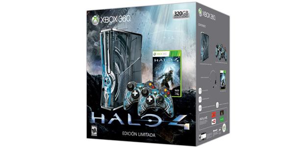 Xbox 360 Edición Limitada de Halo 4