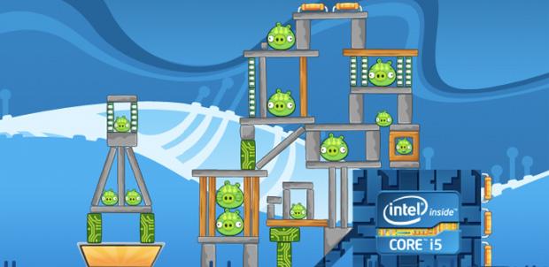 Angry Birds ahora en Ultrabook Adventure