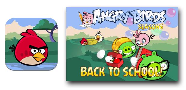 Angry Birds ahora vuelan a la escuela