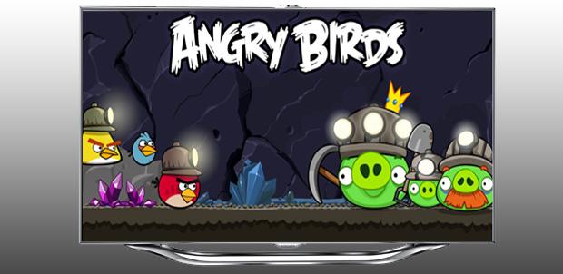 Así es Angry Birds para Samsung Smart TV
