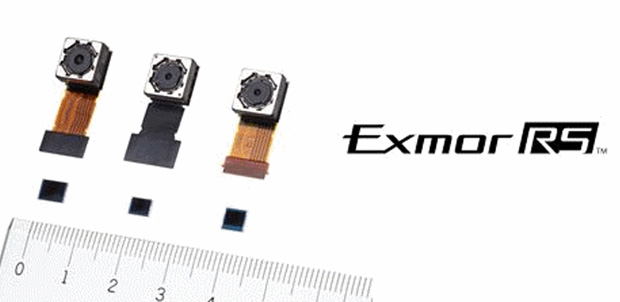 Sony Exmor RS, sensor para smartphones