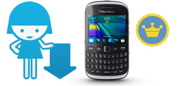 Foursquare-BlackBerry