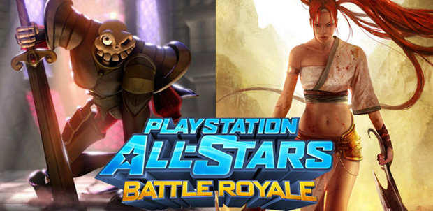 Dos leyendas en All-Stars Battle Royale