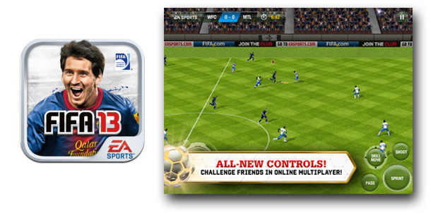 EA Sports lanza FIFA 13 para iPhone 5