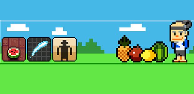 Fruit Ninja para Kinect en 8-bit