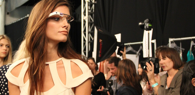 Google Glass en el DVF Spring 2013