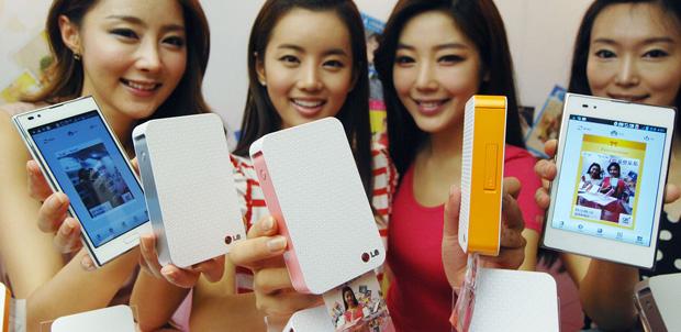 LG presenta Impresora portátil con NFC