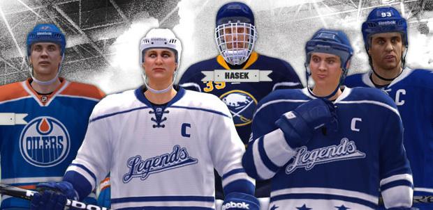 Jugadoras Olímpicas en NHL 13