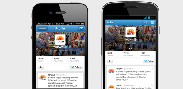 Twitter se actualiza para iOS y Android