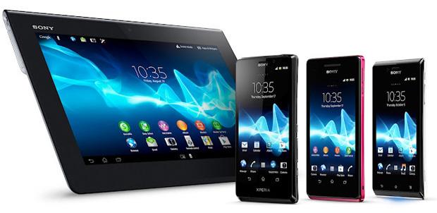 Aplicaciones de los nuevos Sony Xperia