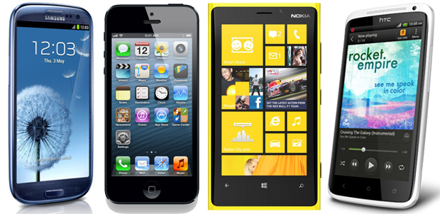 Yahoo! usará iPhone, HTC, Nokia o Samsung
