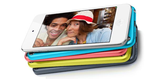 iPod touch con pantalla de 4 pulgadas