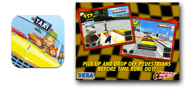 Juega con Crazy Taxi en tu iPad o iPhone