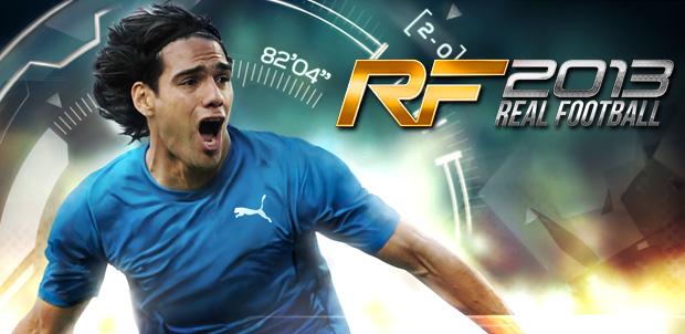 Radamel Falcao imagen de Real Football 2013