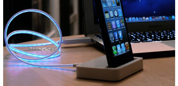 iPhone5Mod presenta Lightning con luz