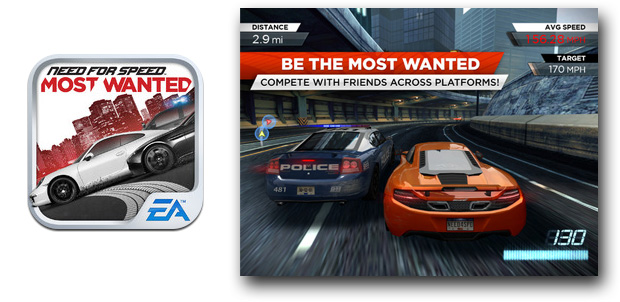 Need for Speed: Most Wanted en iOS
