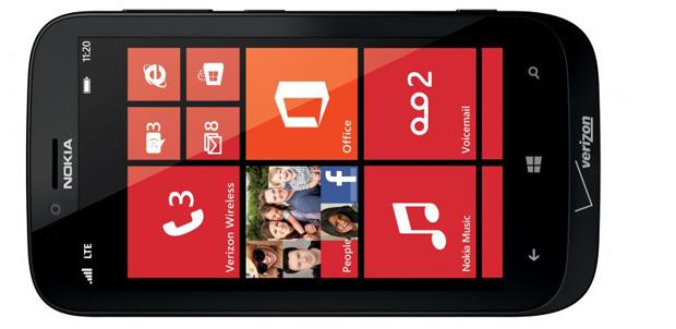 Nokia Lumia 822 listo para Verizon