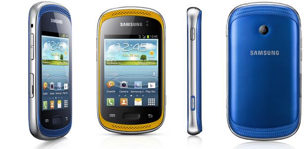 Samsung Galaxy Music con proyector