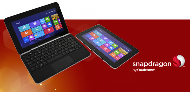 Snapdragon S4 en tablets con Windows RT
