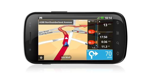 TomTom Navigation ahora para Android