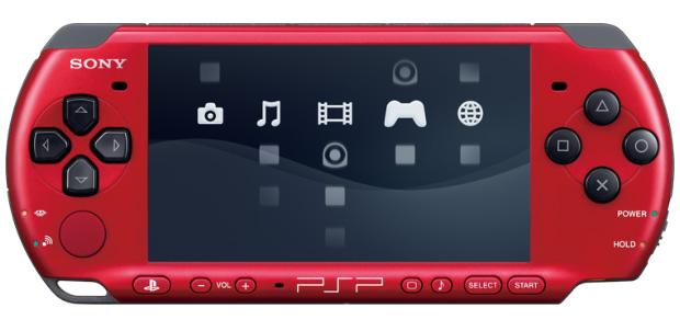 Edición Limitada de PSP en color rojo/negro