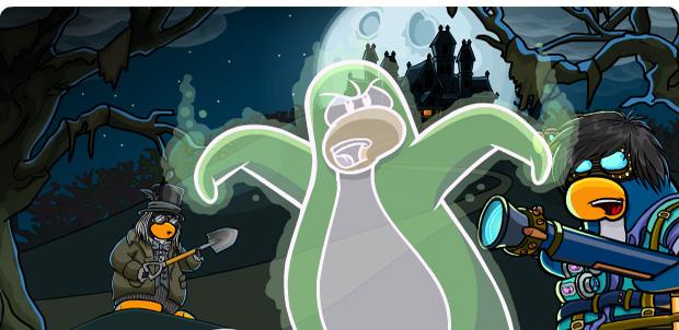 Noche de Brujas lo mejor en Club Penguin