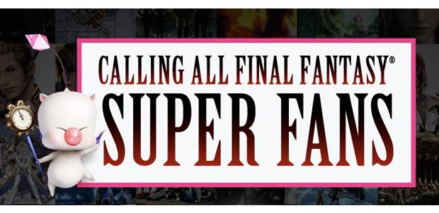 Vota por el Super Fan de Final Fantasy