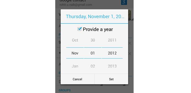 Santa y diciembre no llegan a Android 4.2