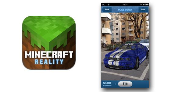 Minecraft con Realidad Aumentada