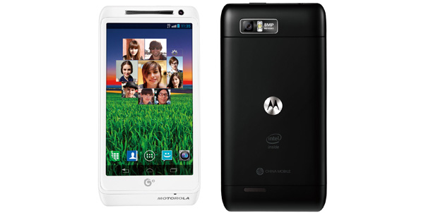 Motorola MT788 con Intel sólo en China