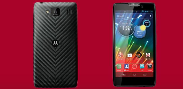 RAZR HD el Motorola con 4G en México