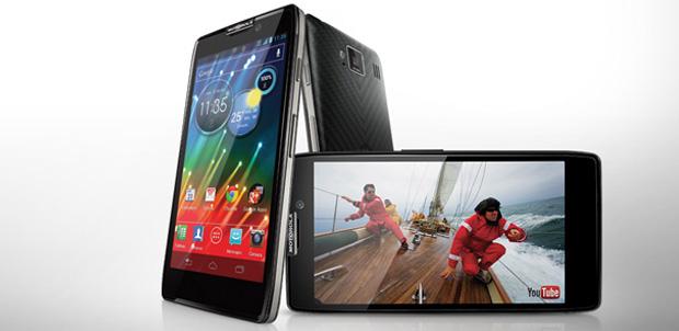Características de Motorola RAZR HD