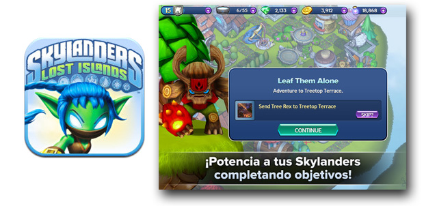 Skylanders Lost Islands gratis para iPad