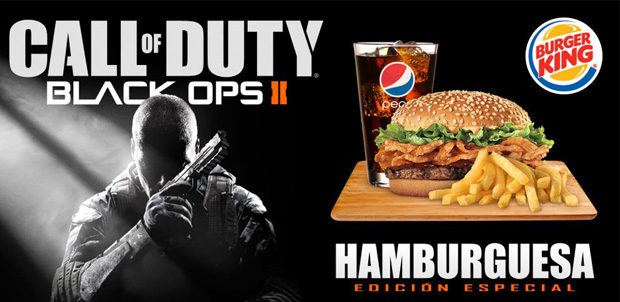 Call of Duty: Black Ops II en Burger King