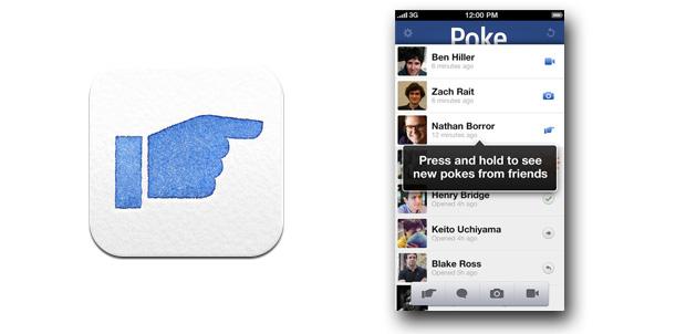 Poke, la nueva aplicación de Facebook