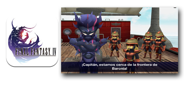Final Fantasy IV ya disponible para iOS
