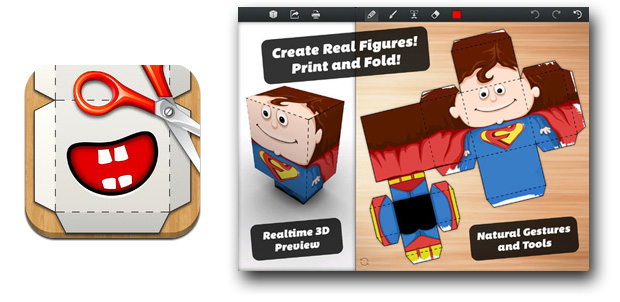 Diseña e imprime tus papercrafts en iPad