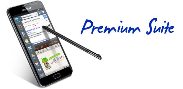 Galaxy Note Premium Suite fue anunciado